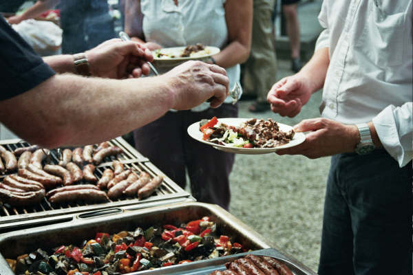 Slow food barbecue